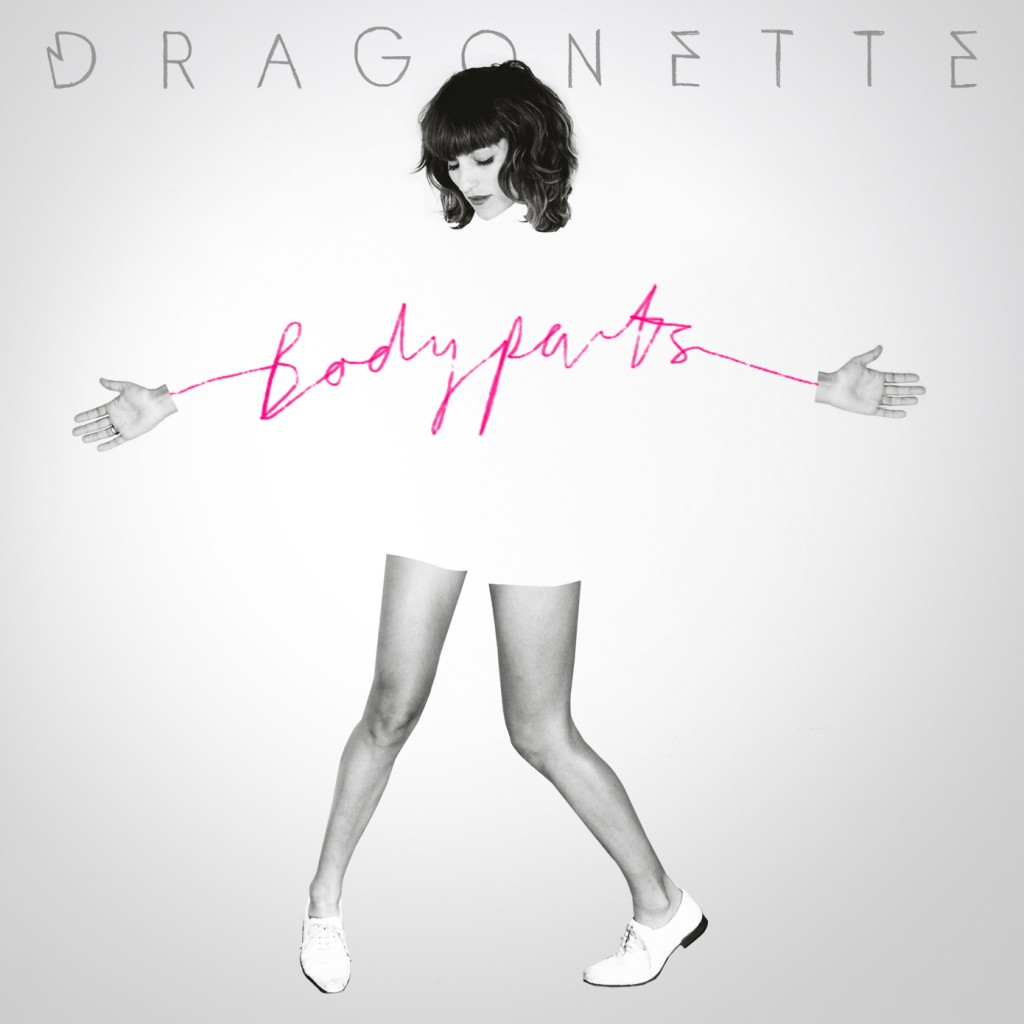 Dragonette Body Parts Album Artwork