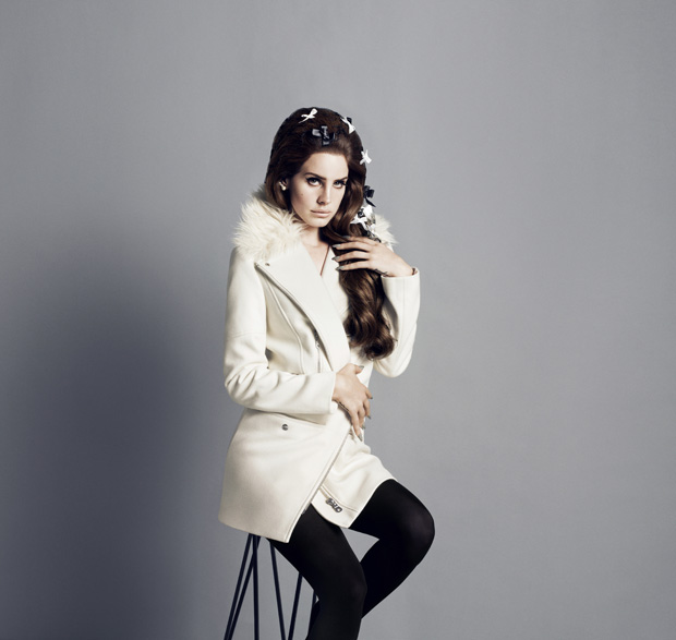 Lana Del Rey H&M Fall 2012 Campaign Photo