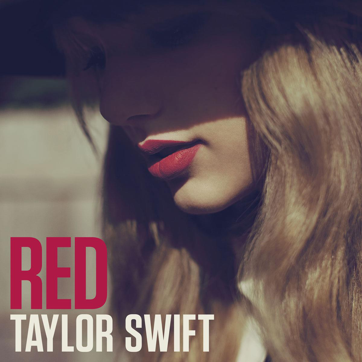 Taylor Swift We Are Never Ever Getting Back Together Red Album Cover 2012