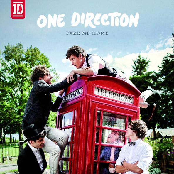 One Direction Take Me Home Album Artwork