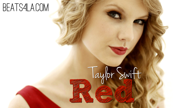Taylor swift red banner