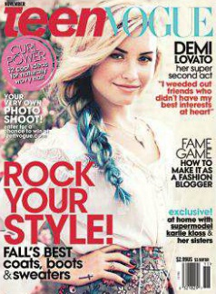 Demi Lovato teen vogue