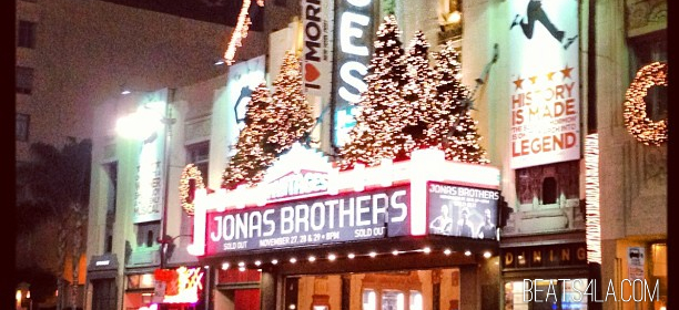 jonas brothers pantages