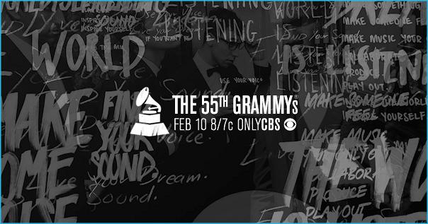 55th Grammys Promo Pic 2013