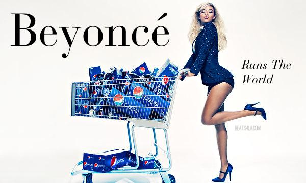 Beyonce Pepsi Cart