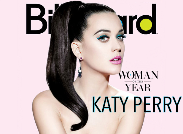 Katy Perry Billboard Woman of The Year Cover Banner