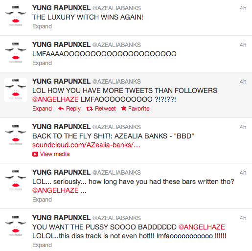 azealia banks tweets 1