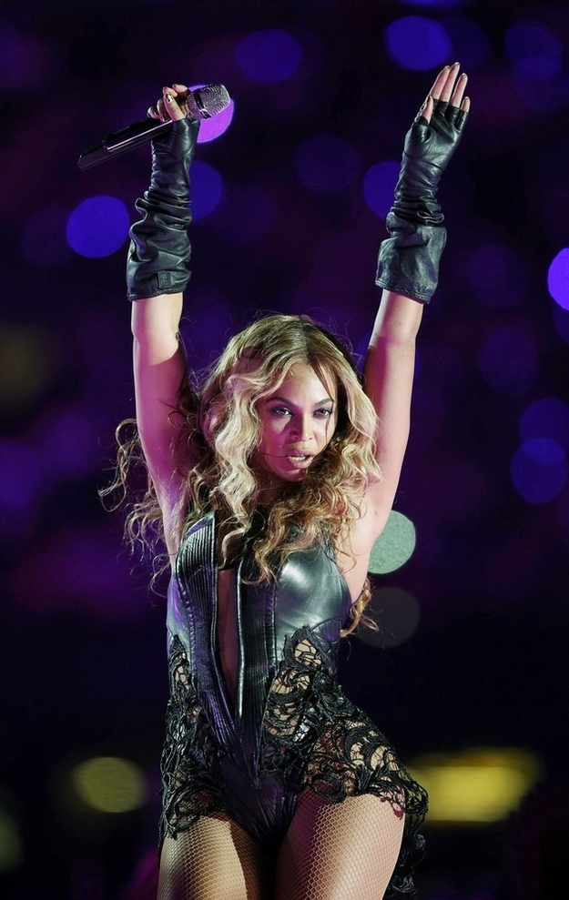 Beyonce Super Bowl Moments