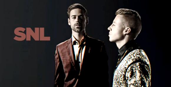 Macklemore & Ryan Lewis Intro SNL 2
