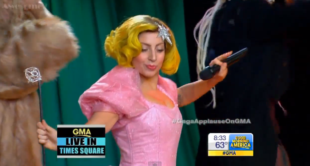 Lady Gaga Good Morning America Performance