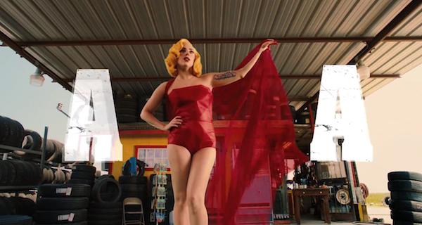 Lady Gaga Aura Lyric Video 2013