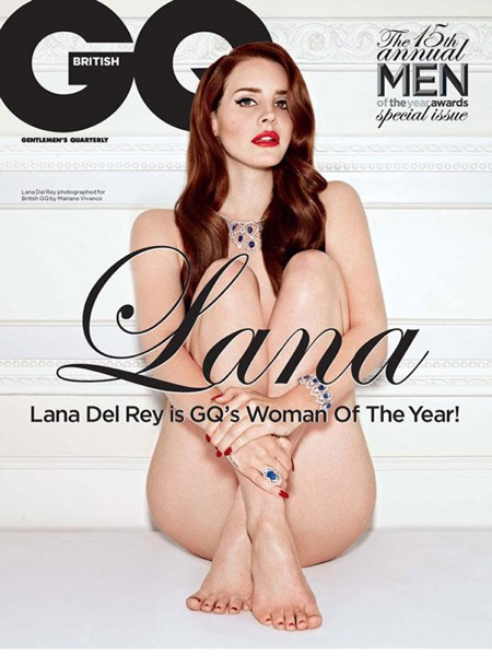 Magazine-SpreadLana-Del-Rey-British-GQ cover.