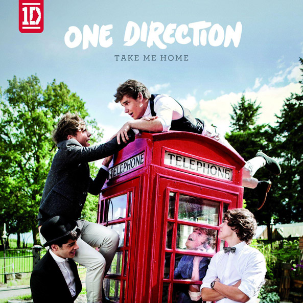 One Direction Take Me Home Album Artwork