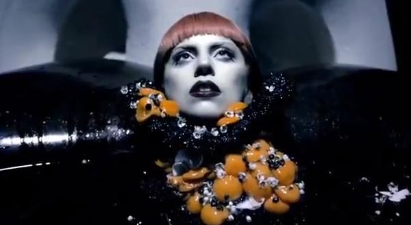 Lady Gaga Fame Perfume Film Promo Still