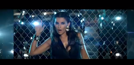 Nelly Furtado Parking Lot Video Still
