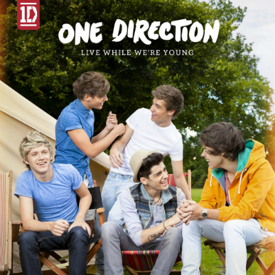 One direction live while were young single artwork
