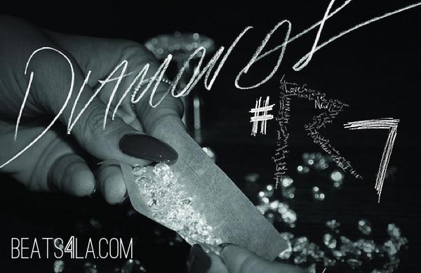 diamonds rihanna beats4la cover art