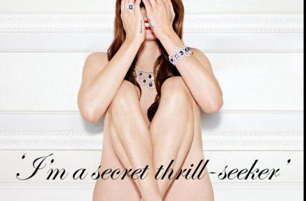 Lana Del Rey British GQ peek a boo