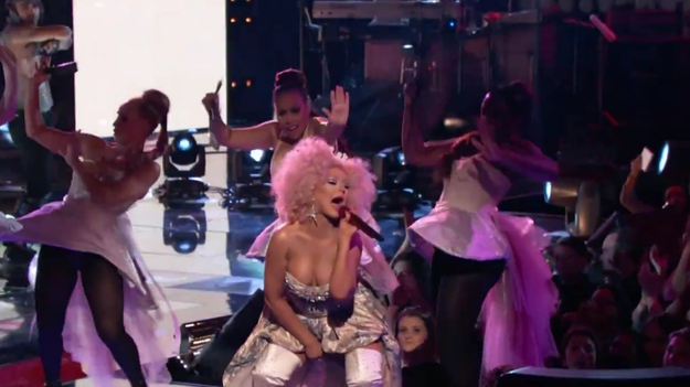 xtina the voice make the world move