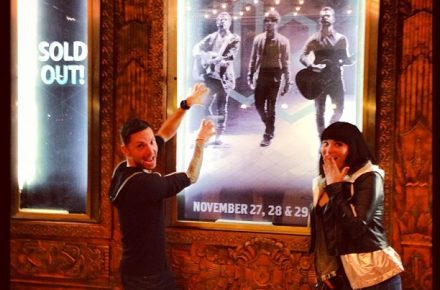 Some Super Fans at Jonas Brothers Pantages Theater Hollywood