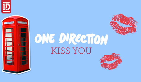 one direction kiss you music video