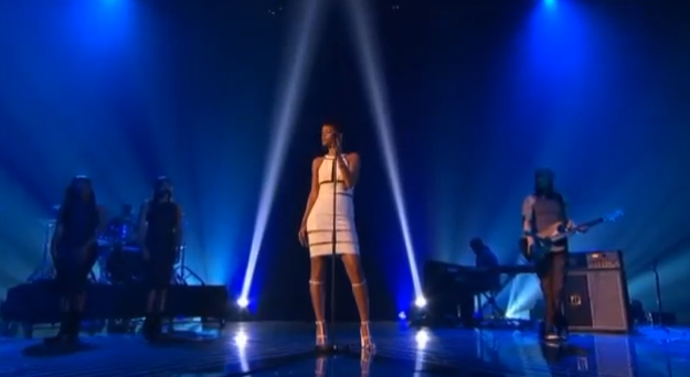 rihanna stay the x factor uk final