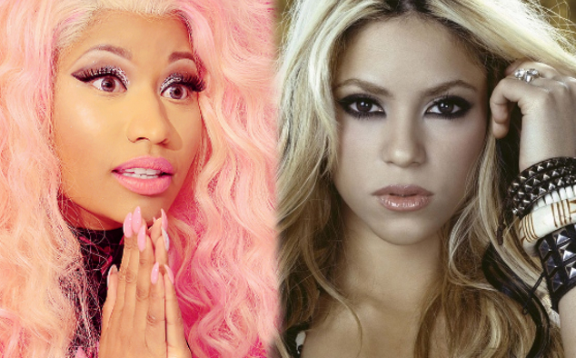 Shakira and Nicki Minaj = Rita Ora