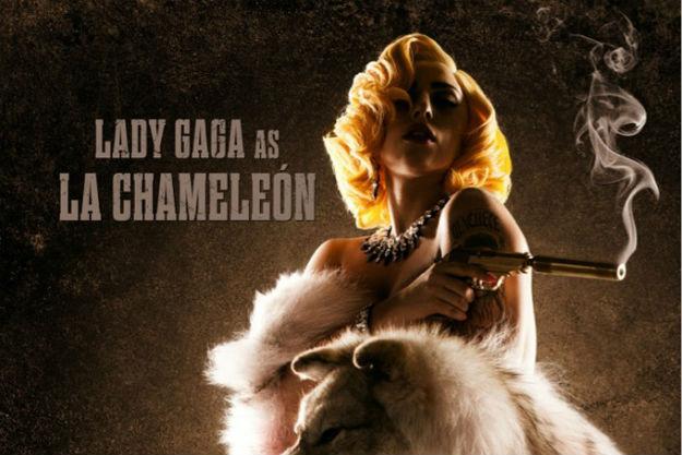 "Lady Gaga ""Machete Kills"""