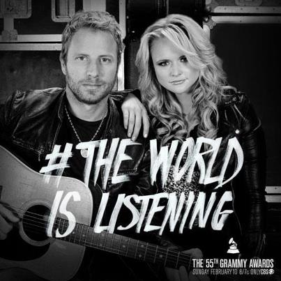 The Grammys The World Is Listening Promo