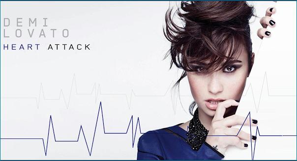 Demi Lovato - Heart Attack Banner