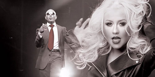 Pitbull Christina Aguilera Feel This Moment