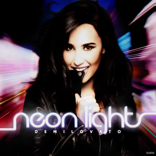 Demi Lovato Neon Lights