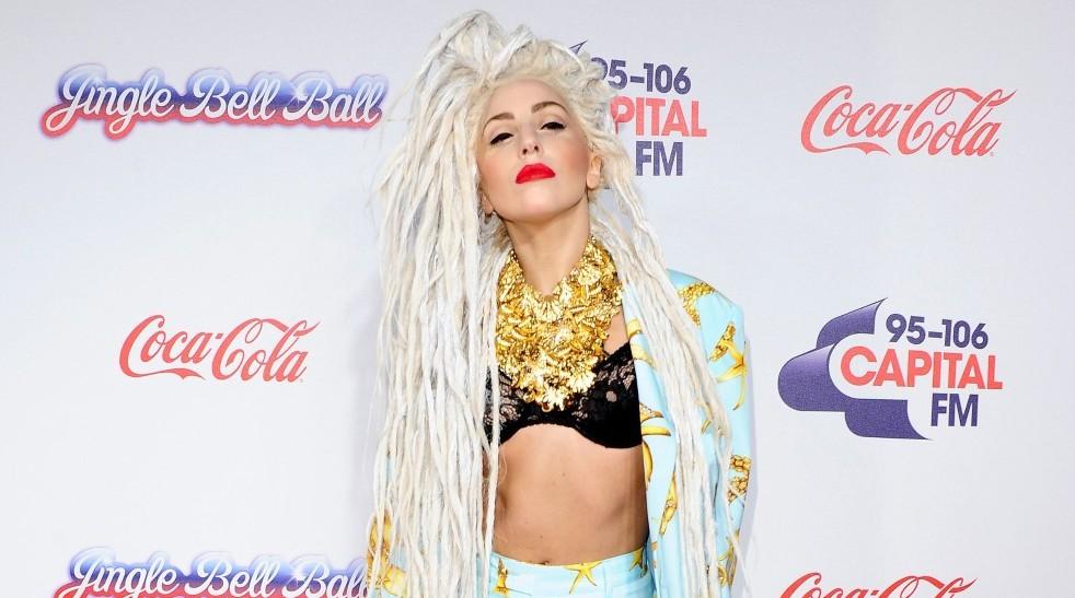 Lady Gaga Jingle Ball Capital FM 2013