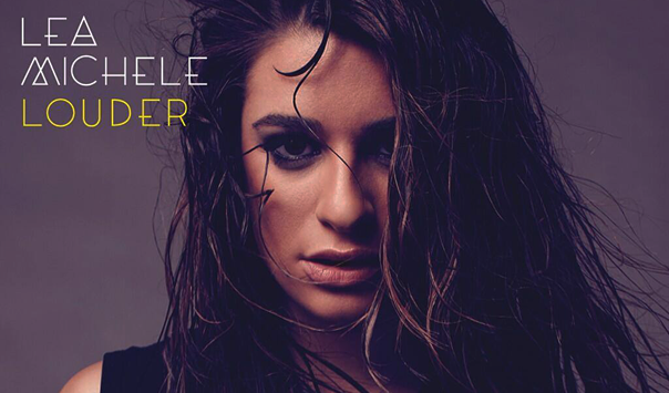 Lea Michele Louder Album Cover 2013