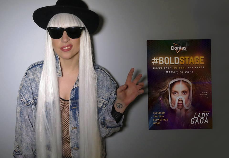 Lady Gaga Doritos #BoldStage