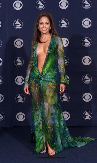 JLo Grammys 2000 Versace