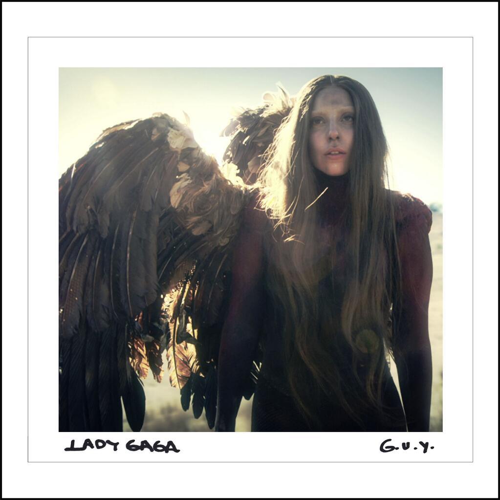 Lady Gaga GUY Single Cover
