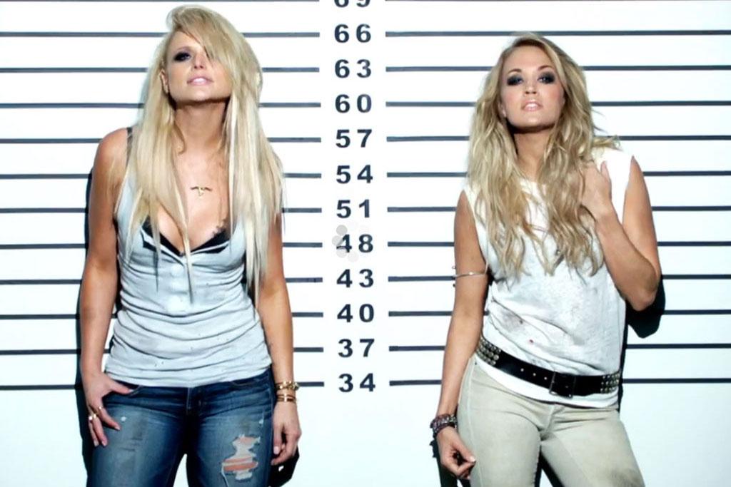 Miranda Lambert and Carrie Underwood Somethin Bad