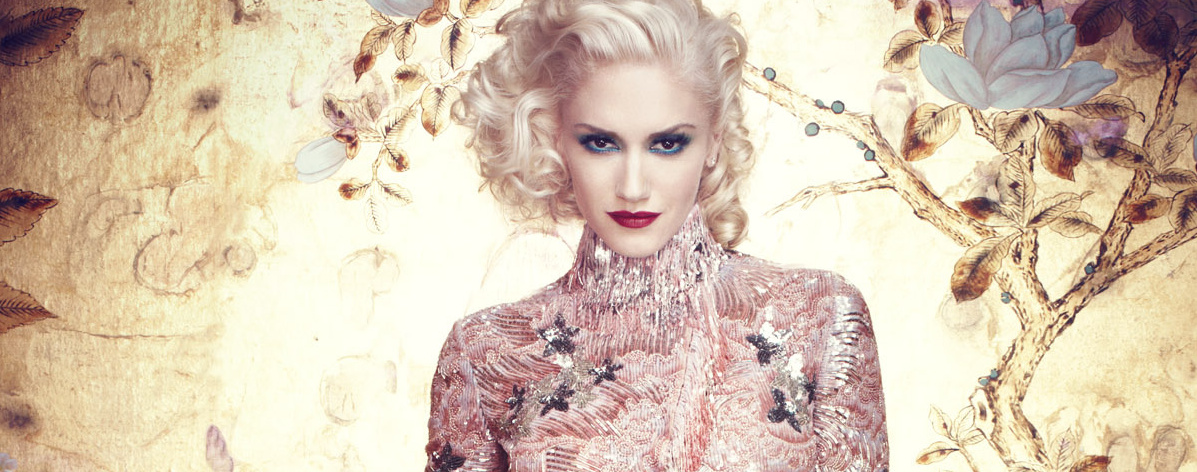 Gwen Stefani for InStyle (2011) photo shoot by Michelangelo Di Battista