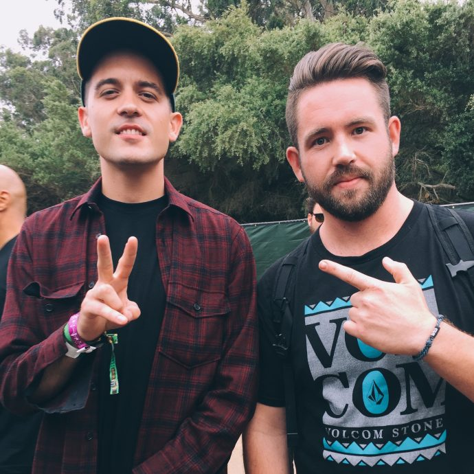 G-Eazy and Andrew Curry