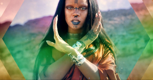 Rihanna Sledgehammer music video star trek beyond