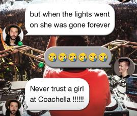 matoma girl at Coachella lyric video
